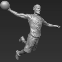 Small Lebron James 3D printing ready stl obj 3D Printing 229541