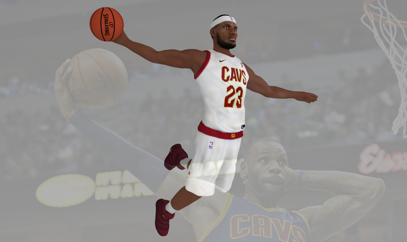 Lebron James ready for full color 3D printing 3D Print 229550