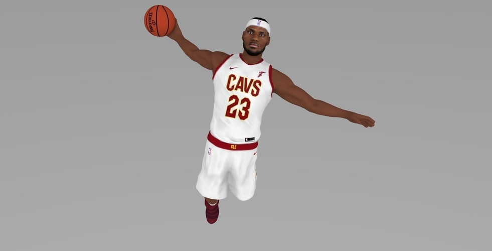 Lebron James ready for full color 3D printing 3D Print 229551