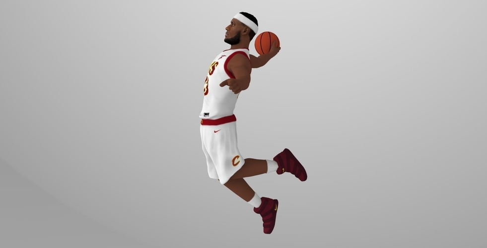 Lebron James ready for full color 3D printing 3D Print 229552