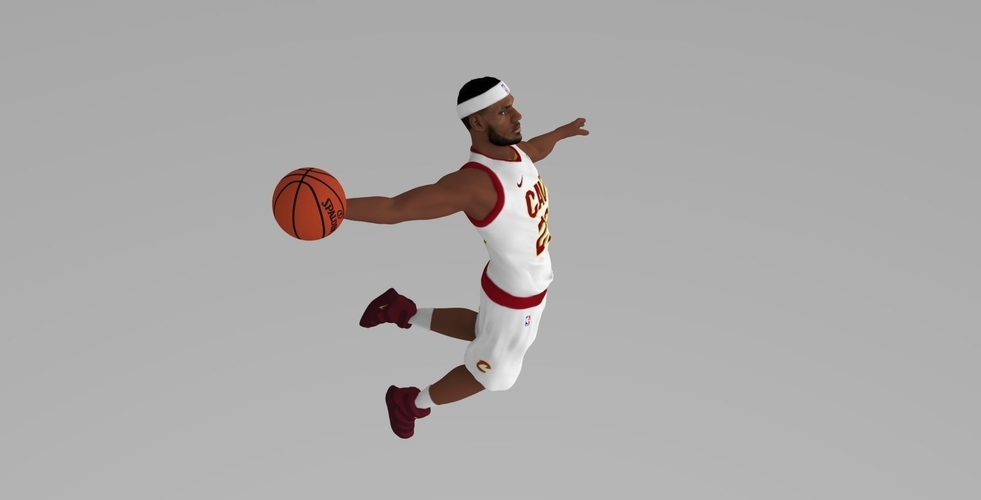 Lebron James ready for full color 3D printing 3D Print 229554
