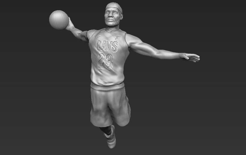 Lebron James ready for full color 3D printing 3D Print 229559