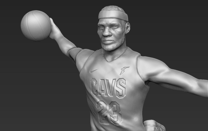 Lebron James ready for full color 3D printing 3D Print 229561