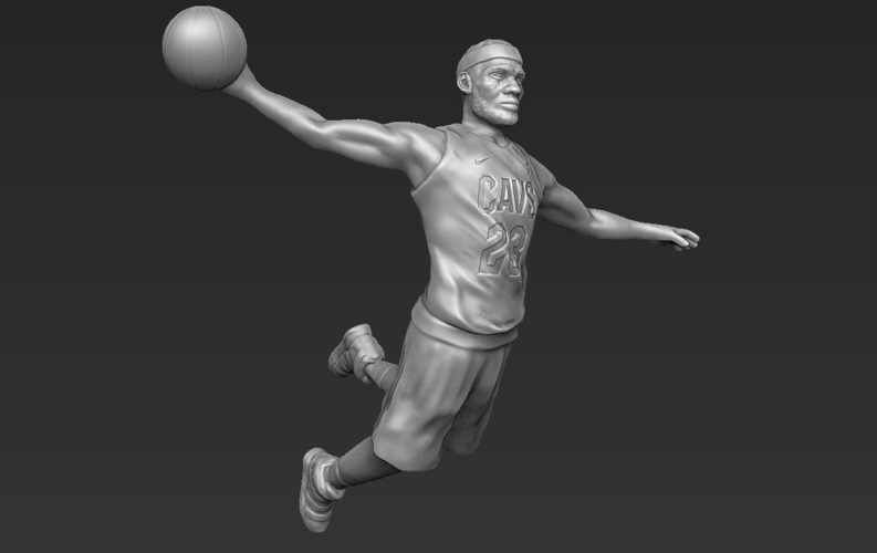 Lebron James ready for full color 3D printing 3D Print 229563