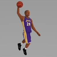 Small Kobe Bryant ready for full color 3D printing 3D Printing 229645