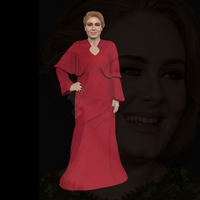 Small Adele ready for full color 3D printing 3D Printing 229674