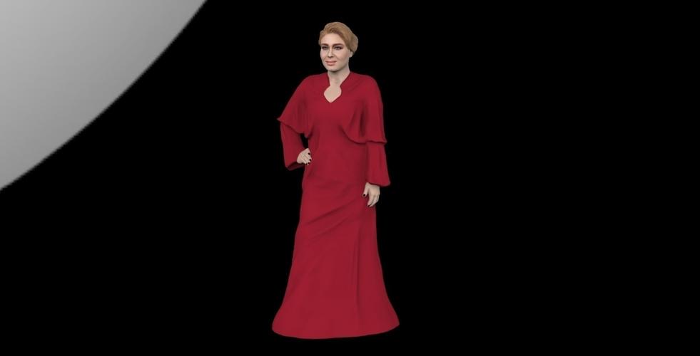 Adele ready for full color 3D printing 3D Print 229675
