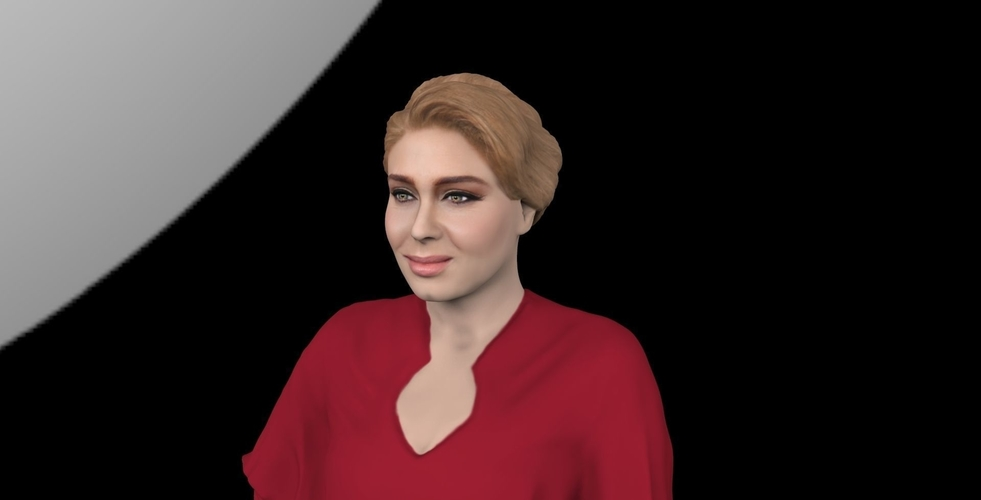 Adele ready for full color 3D printing 3D Print 229679