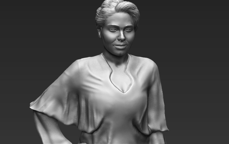 Adele ready for full color 3D printing 3D Print 229685