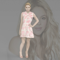 Small Shakira ready for full color 3D printing 3D Printing 229795