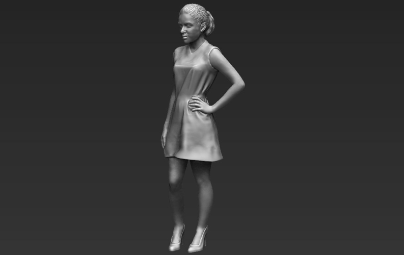 Shakira ready for full color 3D printing 3D Print 229806