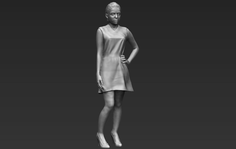 Shakira ready for full color 3D printing 3D Print 229807