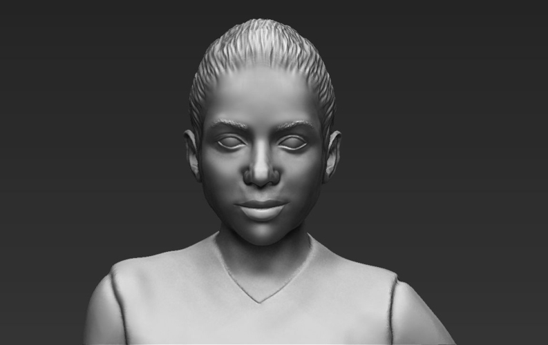 Shakira ready for full color 3D printing 3D Print 229809