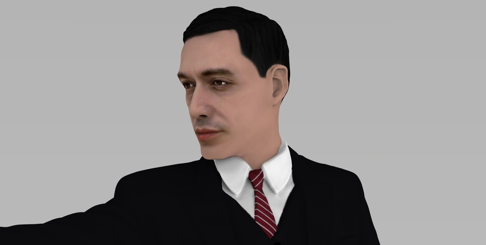 Al Pacino Michael Corleone Godfather for full color 3D printing 3D Print 229834
