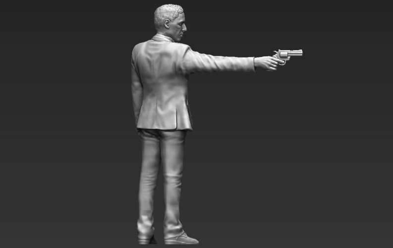 Al Pacino Michael Corleone Godfather for full color 3D printing 3D Print 229839