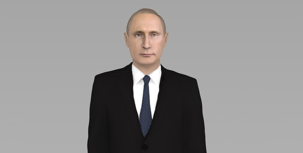 Vladimir Putin ready for full color 3D printing 3D Print 230074