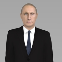 Small Vladimir Putin ready for full color 3D printing 3D Printing 230074