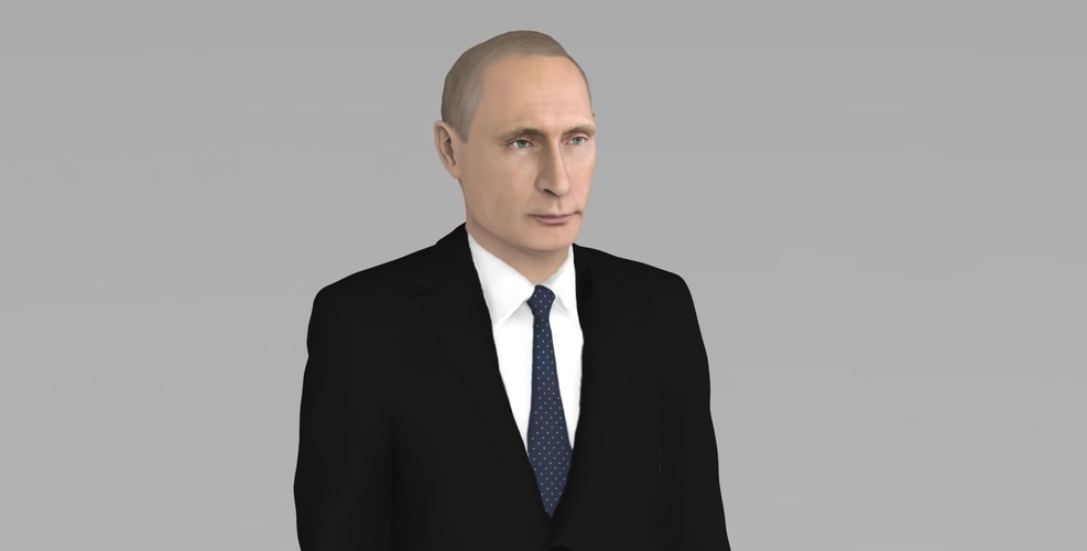 Vladimir Putin ready for full color 3D printing 3D Print 230075