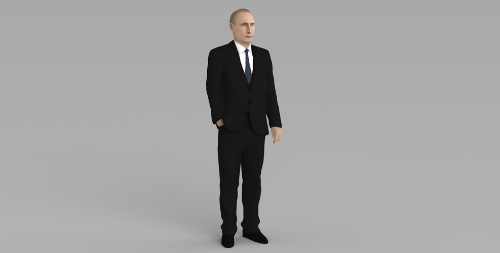 Vladimir Putin ready for full color 3D printing 3D Print 230076