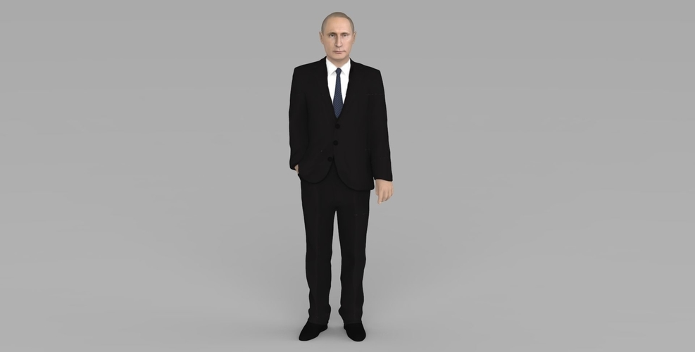 Vladimir Putin ready for full color 3D printing 3D Print 230077