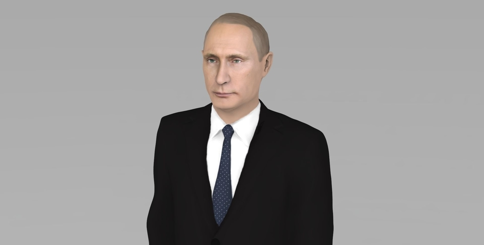 Vladimir Putin ready for full color 3D printing 3D Print 230078