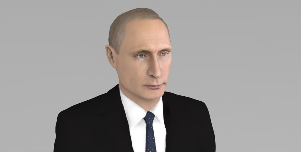 Vladimir Putin ready for full color 3D printing 3D Print 230080