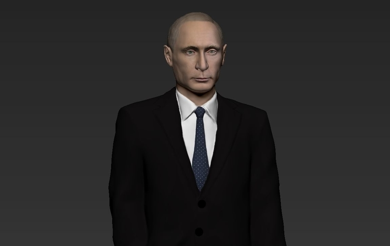 Vladimir Putin ready for full color 3D printing 3D Print 230082