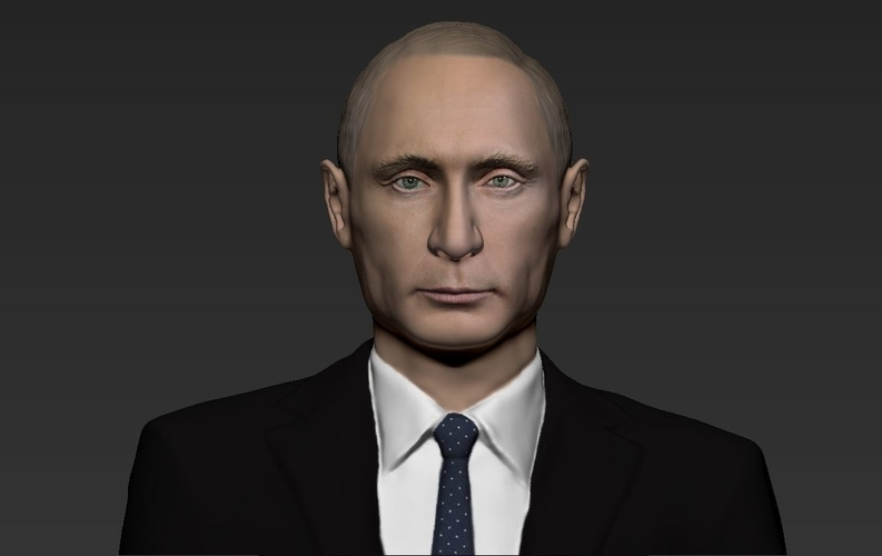 Vladimir Putin ready for full color 3D printing 3D Print 230083