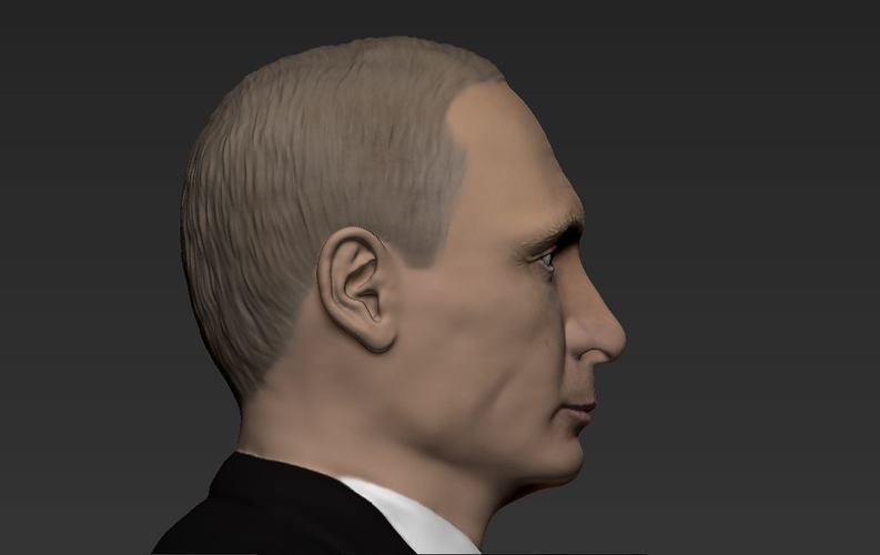 Vladimir Putin ready for full color 3D printing 3D Print 230084