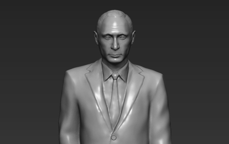 Vladimir Putin ready for full color 3D printing 3D Print 230085