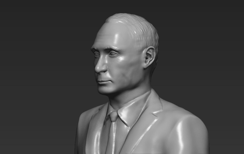 Vladimir Putin ready for full color 3D printing 3D Print 230086