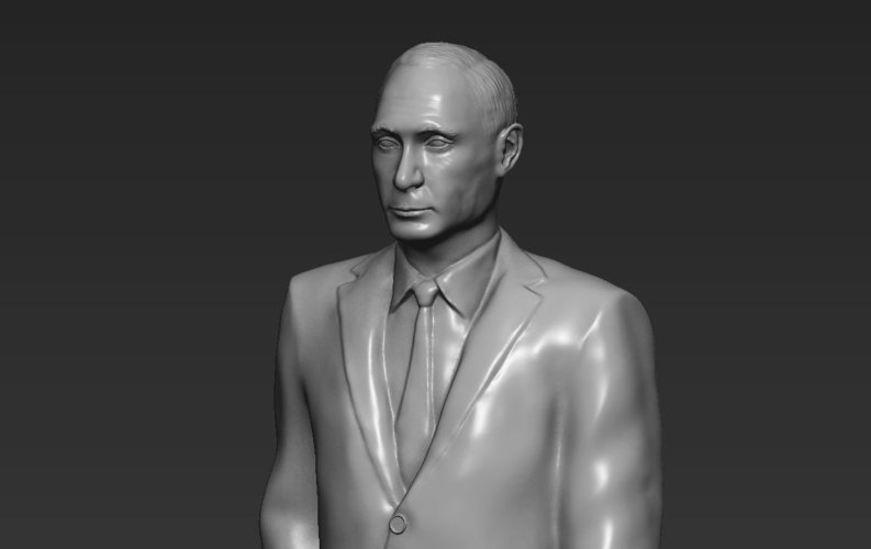 Vladimir Putin ready for full color 3D printing 3D Print 230087