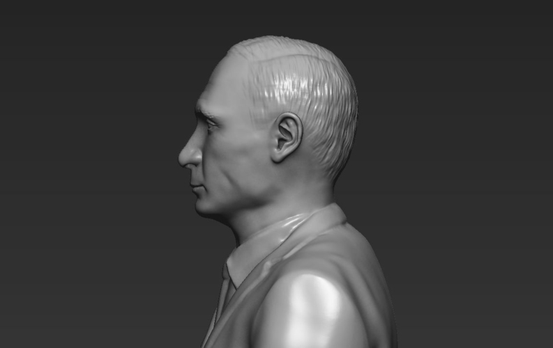 Vladimir Putin ready for full color 3D printing 3D Print 230088