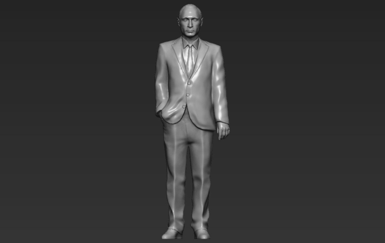 Vladimir Putin ready for full color 3D printing 3D Print 230089