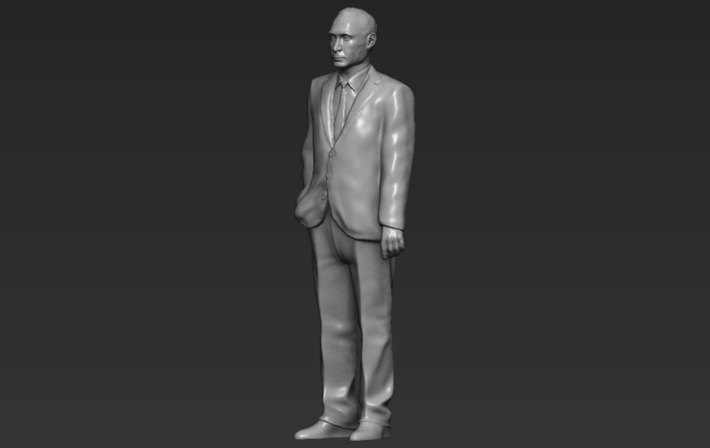 Vladimir Putin ready for full color 3D printing 3D Print 230090