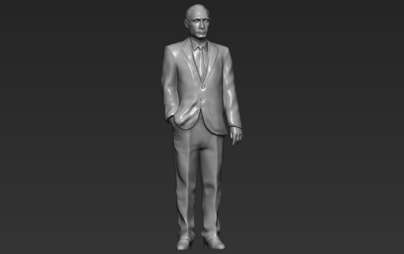 Vladimir Putin ready for full color 3D printing 3D Print 230091