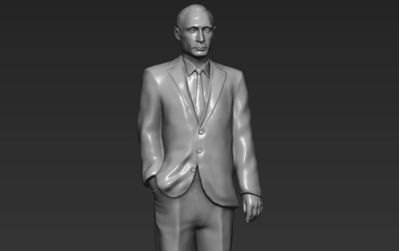 Vladimir Putin ready for full color 3D printing 3D Print 230092