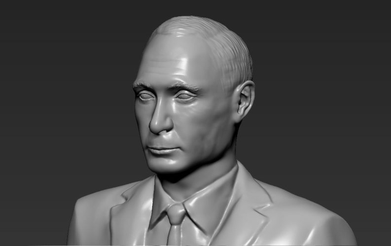 Vladimir Putin ready for full color 3D printing 3D Print 230093