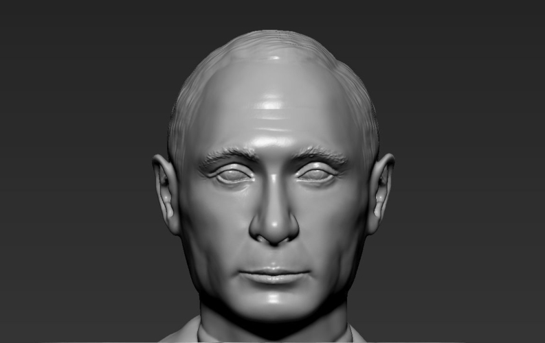 Vladimir Putin ready for full color 3D printing 3D Print 230094