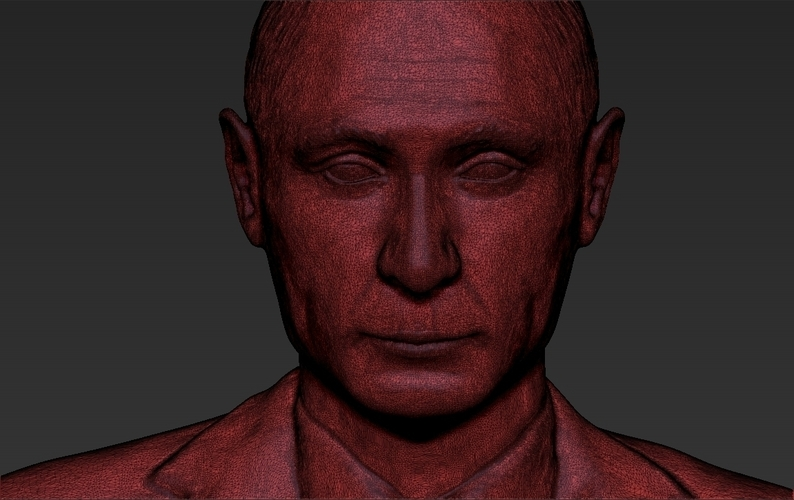 Vladimir Putin ready for full color 3D printing 3D Print 230095