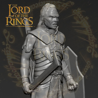 Small Lurtz Uruk-Hai The Lord of the Rings 3D printing ready 3D Printing 230097