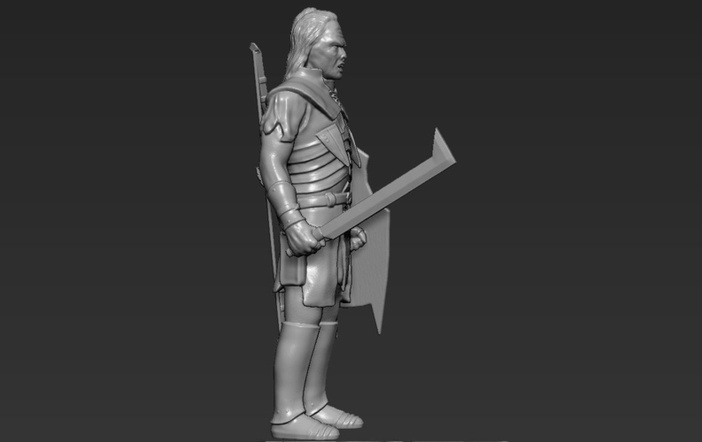 Lurtz Uruk-Hai The Lord of the Rings 3D printing ready 3D Print 230101