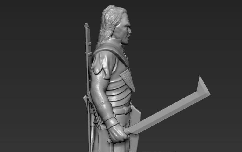 Lurtz Uruk-Hai The Lord of the Rings 3D printing ready 3D Print 230102