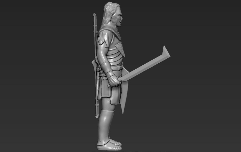 Lurtz Uruk-Hai The Lord of the Rings 3D printing ready 3D Print 230103