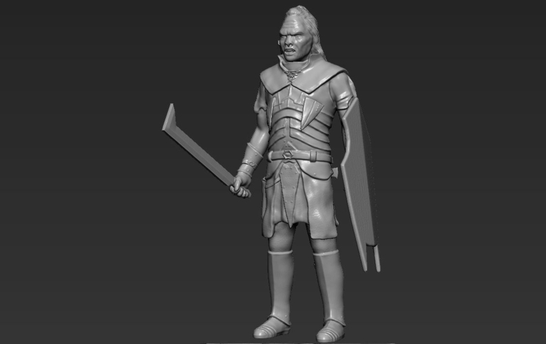 Lurtz Uruk-Hai The Lord of the Rings 3D printing ready 3D Print 230104