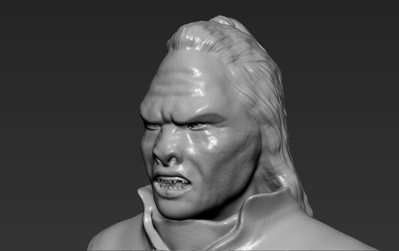 Lurtz Uruk-Hai The Lord of the Rings 3D printing ready 3D Print 230106