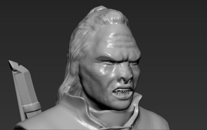Lurtz Uruk-Hai The Lord of the Rings 3D printing ready 3D Print 230107