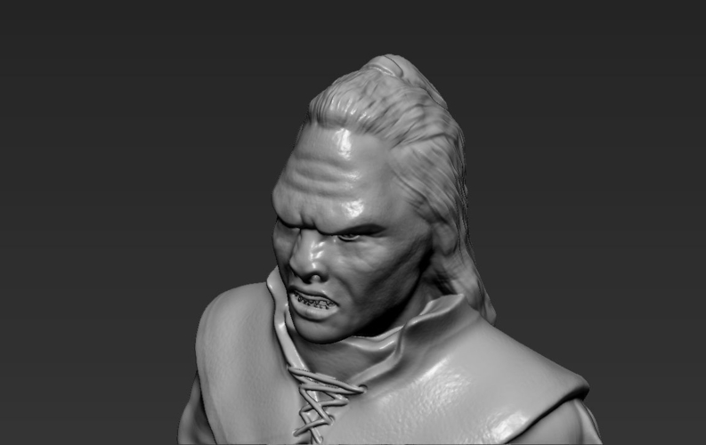 Lurtz Uruk-Hai The Lord of the Rings 3D printing ready 3D Print 230108