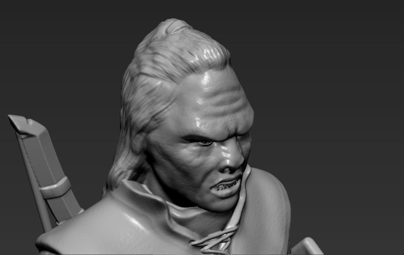 Lurtz Uruk-Hai The Lord of the Rings 3D printing ready 3D Print 230109