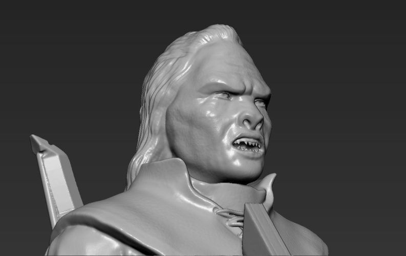 Lurtz Uruk-Hai The Lord of the Rings 3D printing ready 3D Print 230110